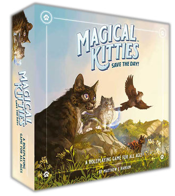 Magical Kitties Save the Day! All Ages Roleplaying Game