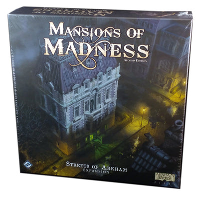 Mansions of Madness Street of Arkham Expansion
