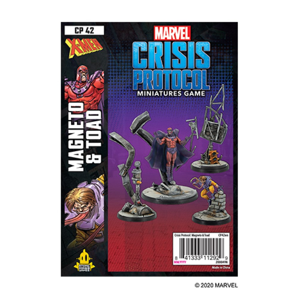 Marvel Crisis Protocol Magneto & Toad Character Pack