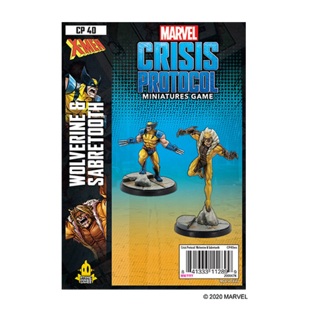 Marvel Crisis Protocol Wolverine & Sabretooth Character Pack