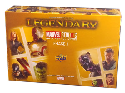 Marvel Legendary MCU 10th Anniversary Phase 1