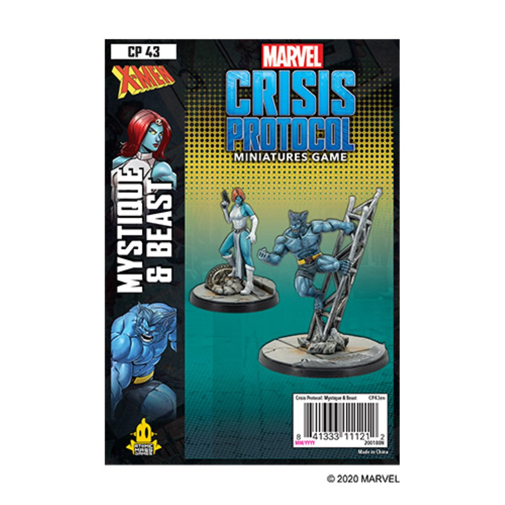 Marvel Crisis Protocol Mystique & Beast Character Pack