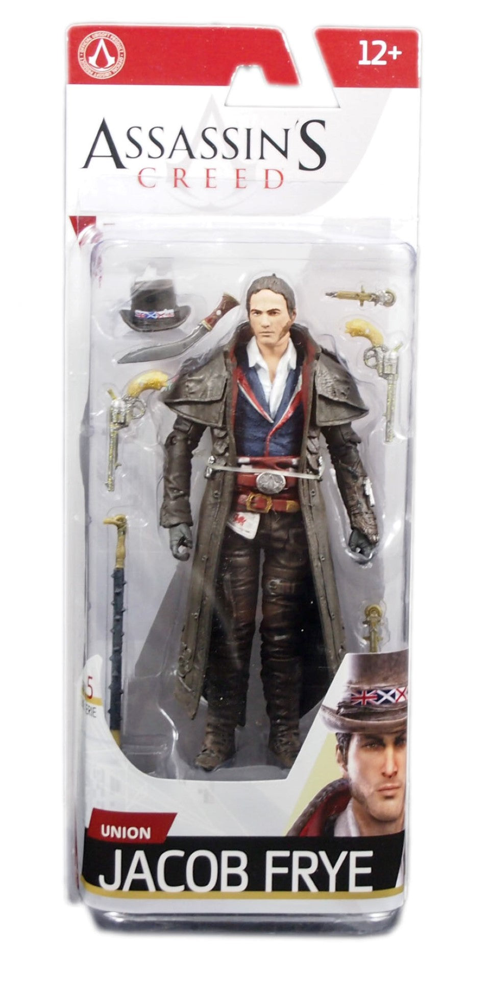 Assassin S Creed Series 5 Action Figure Union Jacob Frye Brique Braque