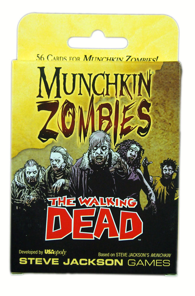 Munchkin Zombies : The Walking Dead expansion
