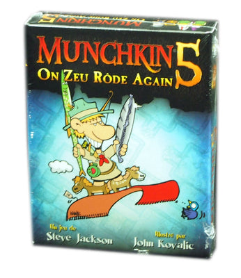 Munchkin 5 On Zeu Rode Again Extension (French Édition)
