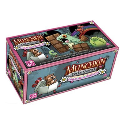 Munchkin Dungeon Cute As a Button Expansion