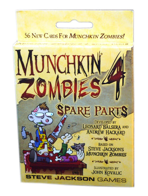 Munchkin Zombies 4, Spare Parts