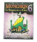 Munchkin 6 Le donjon de la Farce (French Édition)