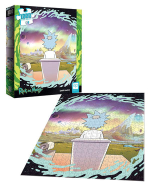 "Rick & Morty ""Shy Pooper"" 1000 pc Jigsaw Puzzle"
