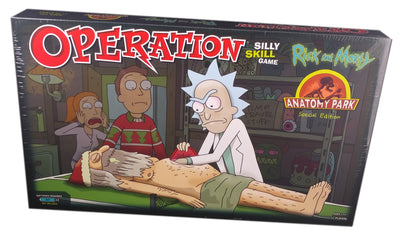Operation Rick And Morty Anatomy park