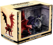 Pathfinder Battles, City of Lost Omens Adult Red & Black Dragons