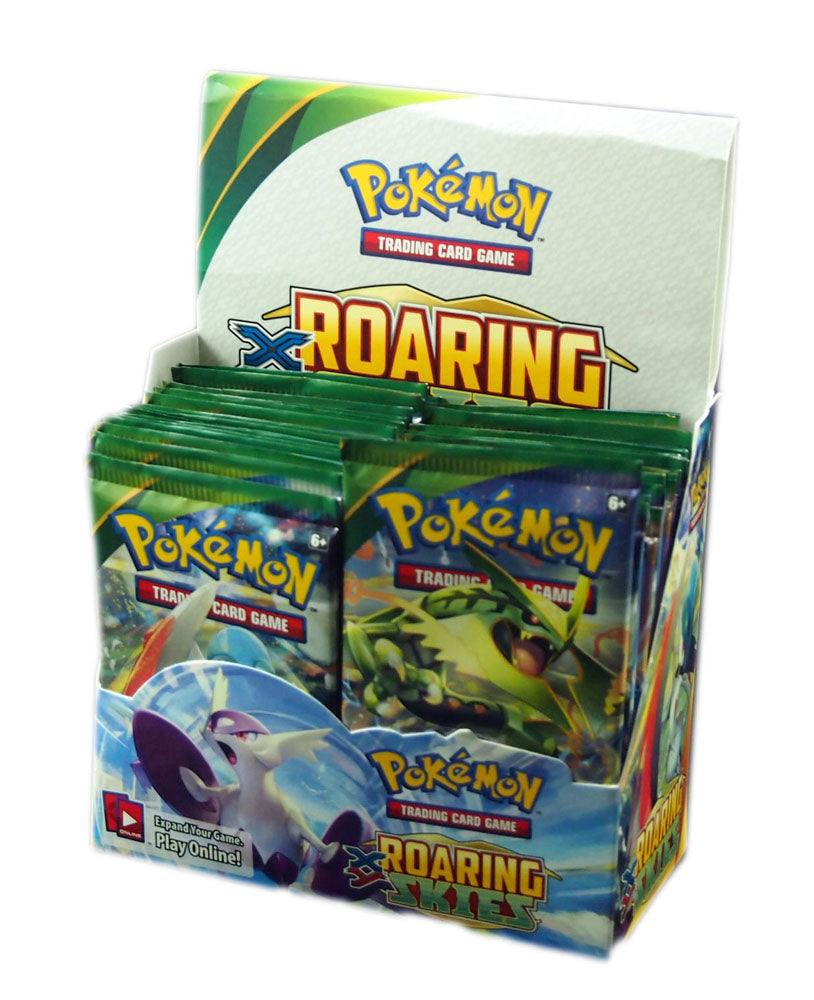 Pokemon XY6, Roaring Skies Booster pack