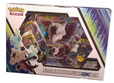 Pokemon Alolan Marowak Gx Box SM187