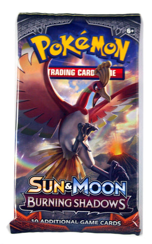 Pokemon SM Burning Shadows 1 Booster Pack