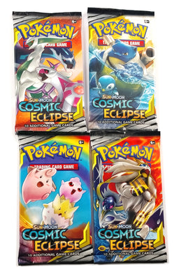 Pokemon TCG SM12, Cosmic Eclipse (4) Booster pack