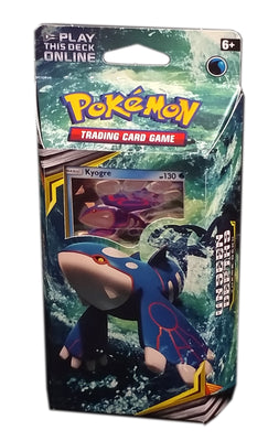 Pokemon TCG SM12 Cosmic Eclipse Kyogre Theme Deck,