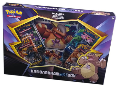 Pokemon Kangaskhan-GX Box