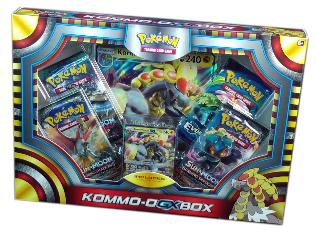 Pokemon TCG Kommo-o GX Collection Box | Brique & Braque