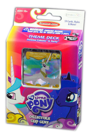 My Little Pony Canterlot Nights Theme Deck, Celestia & Rarity