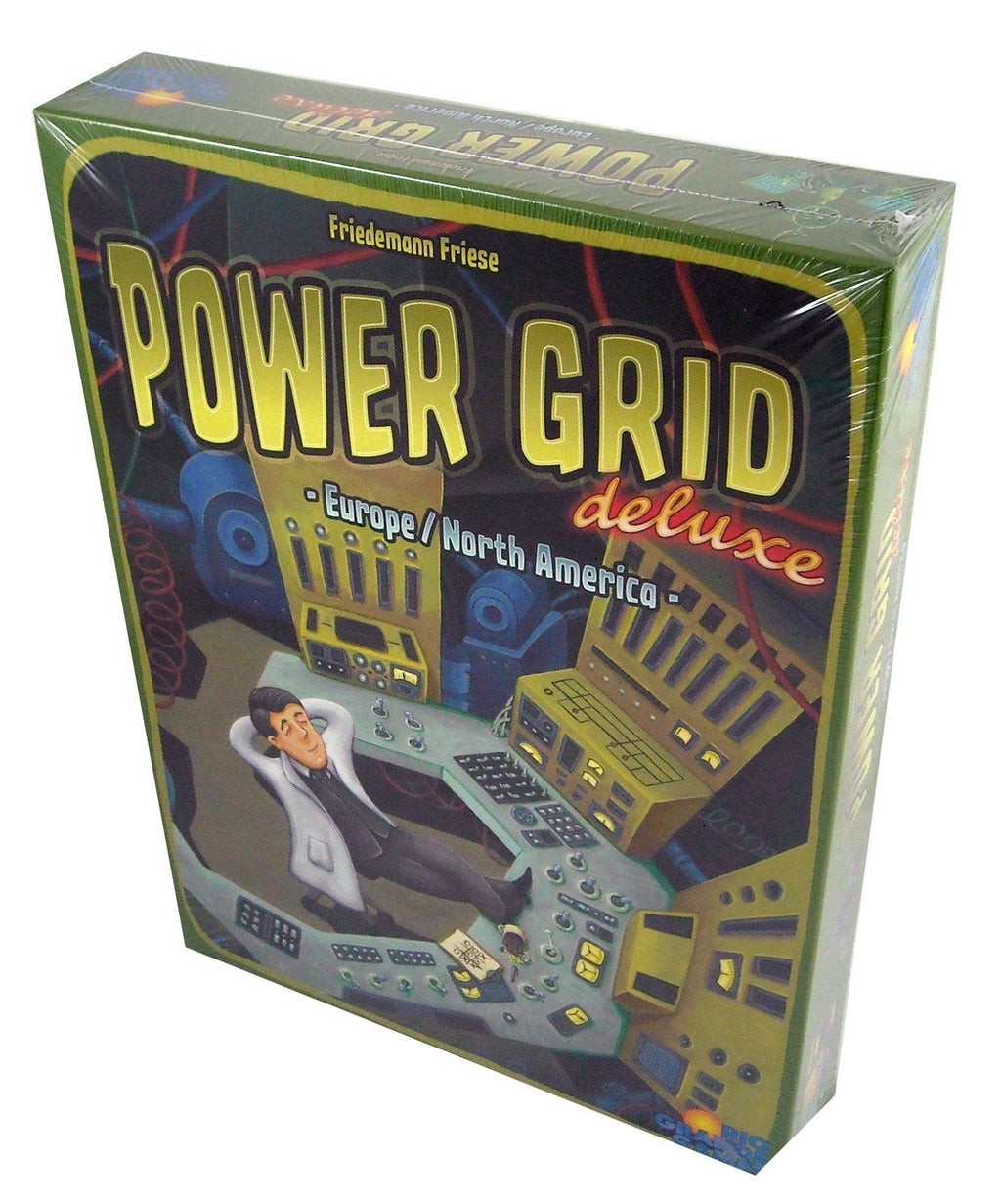 Power Grid Deluxe Europe/North America