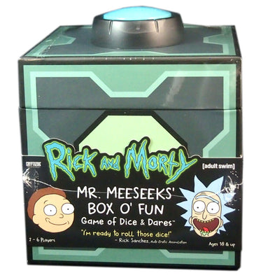 Rick & Morty, Dice & Dare Game, Mr. Meeseek's Box O' Fun