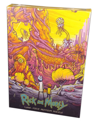 Rick and Morty, Rickverse, 1000 pieces puzzle