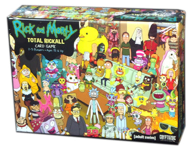 Rick & Morty, Total Rickall Card Game