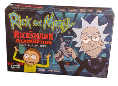 Rick and Morty Deckbuilding Game #2, Rickshank Rickdemption