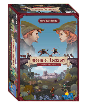 Robin of Locksley Contest of Thieves Board Game
