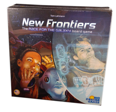 New Frontiers, The Race for the Galaxy Board Game