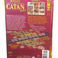 Rivals for Catan Deluxe 2-Players Card Game