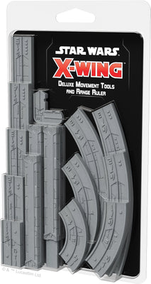 Star Wars X-Wing 2.0 Deluxe Movements Tools and Range Ruler