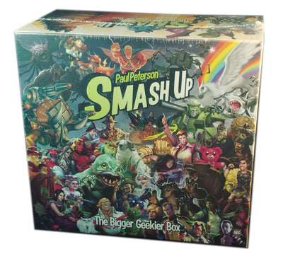 Smash-up : The Bigger Geekier Box Expansion