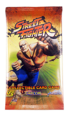 UFS Street Fighter CCG, 1 booster Pack