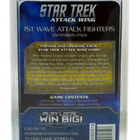 STAW, Cardassian, 1st Wave Attack Fighters Expansion Pack
