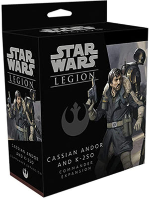 Star Wars Legion Cassian Andor And K-2SO Unit Expansion