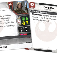 Star Wars Legion Jyn Erso Commander Expansion