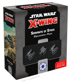 Star Wars X-Wing 2.0 Separatist Servant of Strife Expansion Pack