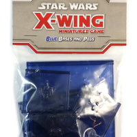 X-Wing Miniatures Game, Blue Bases and Pegs