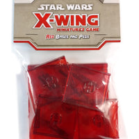 X-Wing Miniatures Game, Red Bases and Pegs