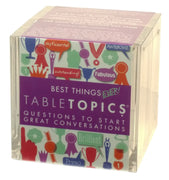 Tabletopics: Best Things Ever!