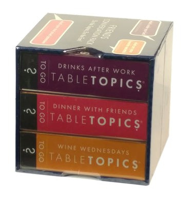 Tabletopics: Friends Trio