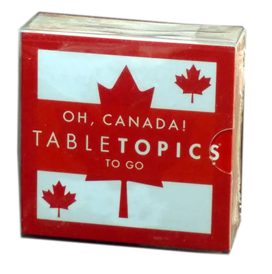 Tabletopics To Go: Oh Canada!