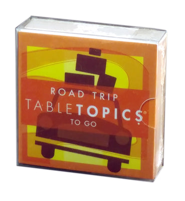 Tabletopics To Go: Road Trip