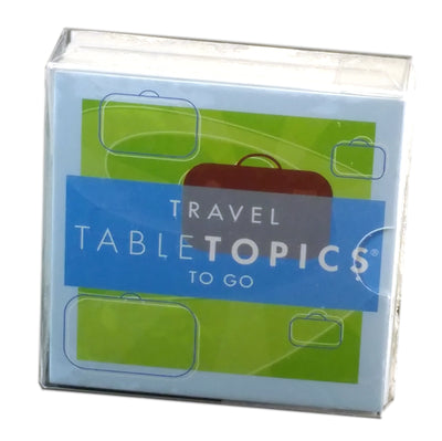 Tabletopics To Go: Travel
