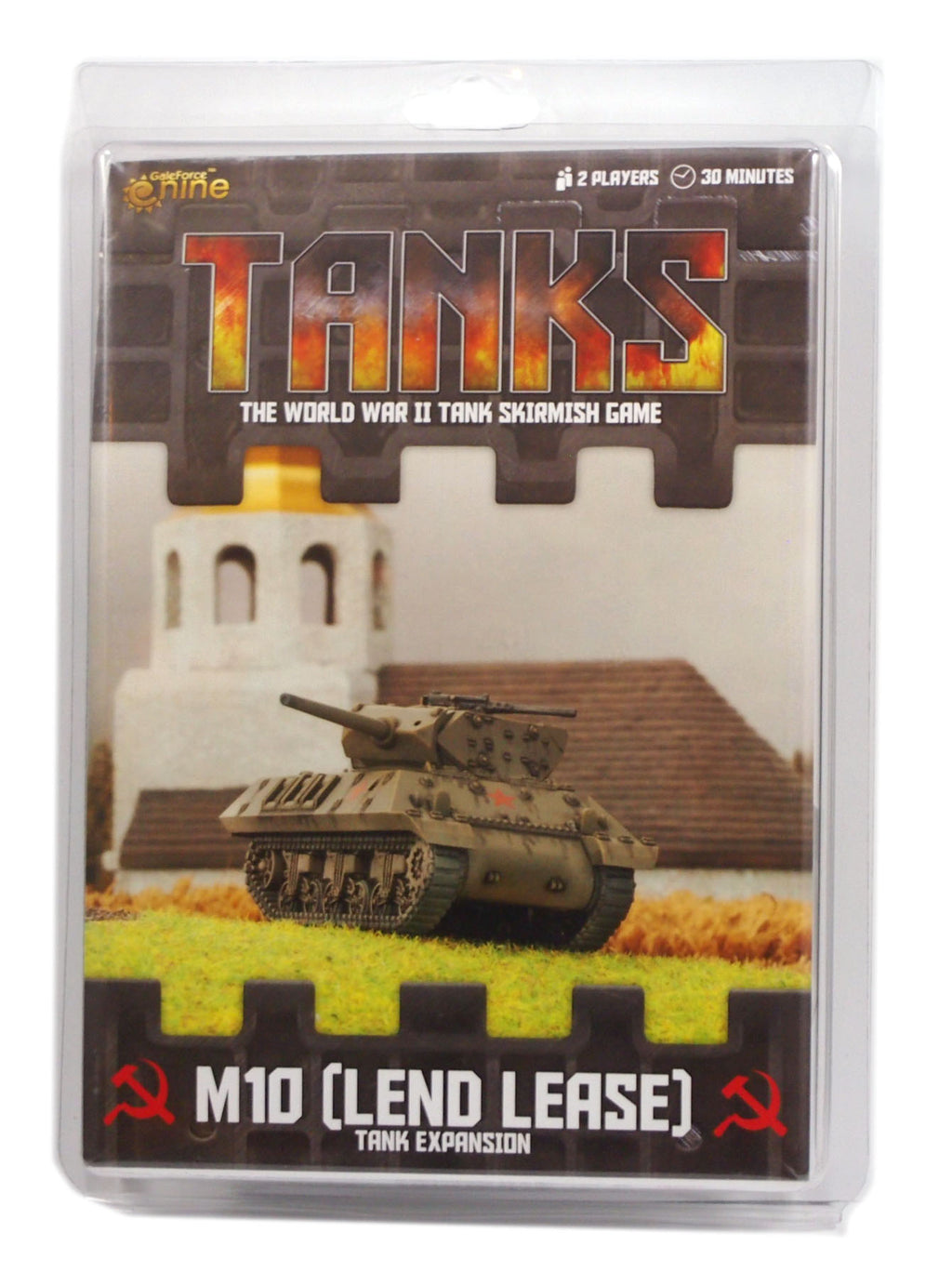 Tanks, Soviet M10 (Lend Lease)