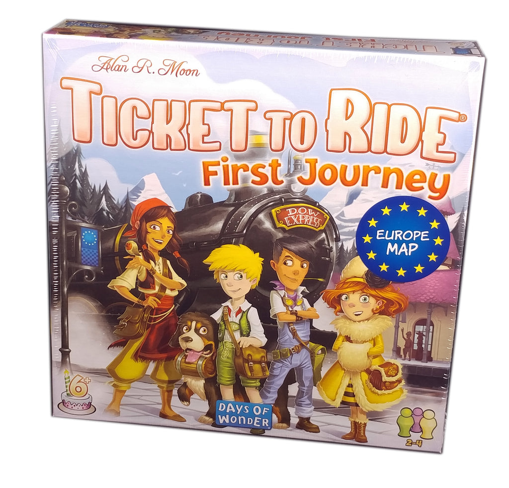 Ticket to Ride First Journey Europe