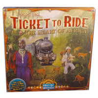 Ticket to Ride Heart of Africa Map Expansion (Multilingual)