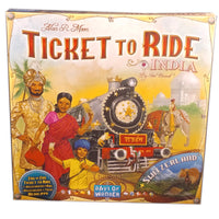 Ticket to Ride India Map Expansion (Multilingual)