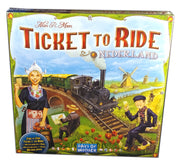 Ticket to Ride Nederland Map Expansion (Multilingual)
